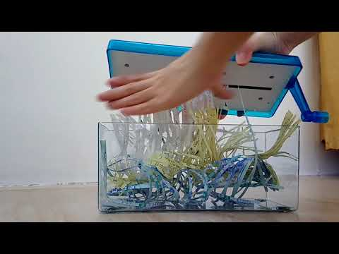 Manual Paper Shredder Demo