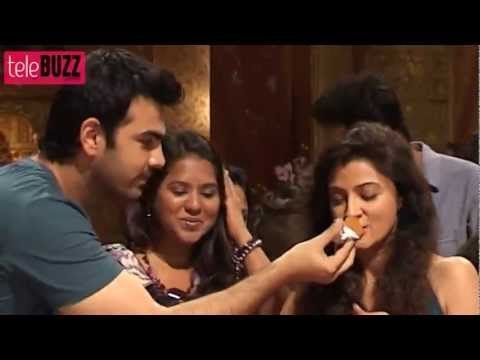 Zee Tv Yahan Mein Ghar Ghar Kheli 500 Episodes Success Party With Abha and Karan