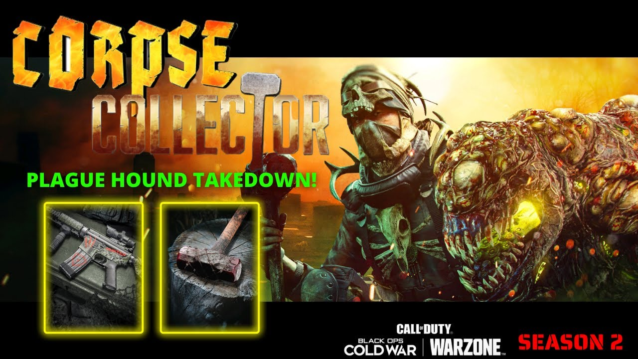*NEW* CORPSE COLLECTOR BUNDLE AND PLAGUE HOUND TAKEDOWN!