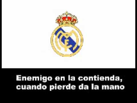 Himno del Real Madrid C.F.(Con letra)