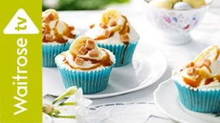 Fairtrade Banoffee Cupcakes | Waitrose