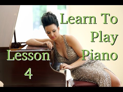 Learn How to Play Piano | EASY | Lesson 4 | Actual PLAYING ...