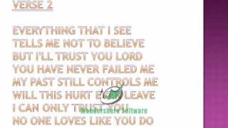 James Fortune and F.I.Y.A - I Trust You Lyrics