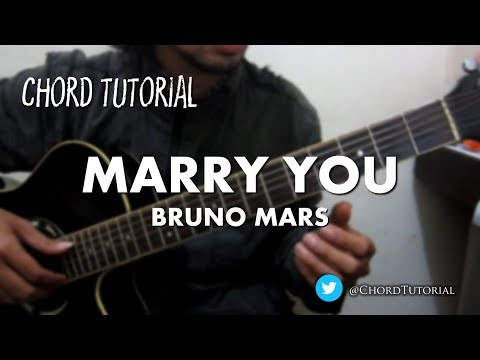 Marry You - Bruno Mars (CHORD)