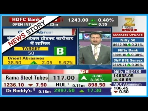 Orient Abrasives is suggested for buying as super share | Super Share