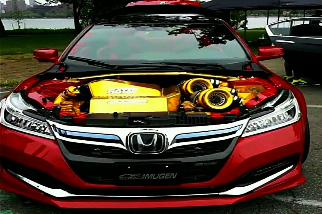 Heavily Moded 2016 Accord Coupe Twin Turbo V6
