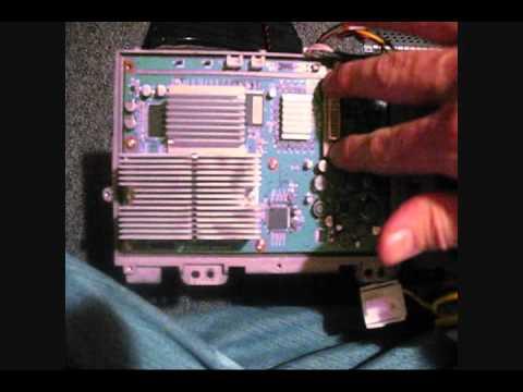 Mitsubishi Wd 65733 Dlp Replacement Wmv Youtube