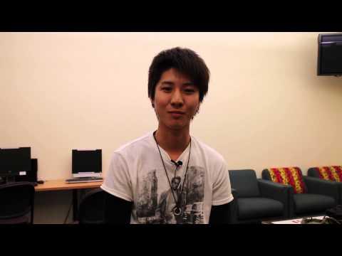 International Student Interview Takuya (English)