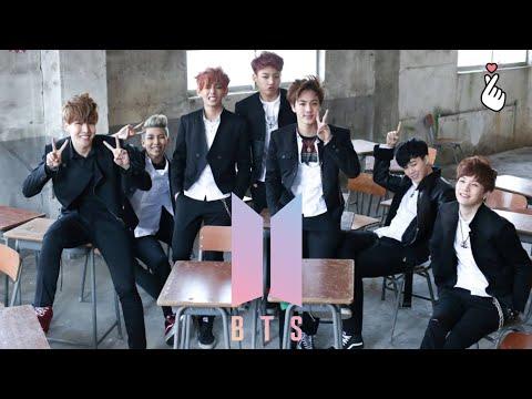 Behind the scene BTS boy in luv BANGTAN boys