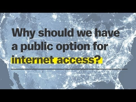 Why the government should provide internet access