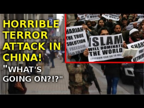 Terror Attack in China 2016 Biggest Terror Shooting in China!!!