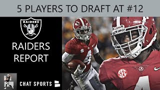 Raiders Draft Rumors: 5 Players The Las Vegas Raiders Could Select #12 Ovr In The 2020 NFL Draft