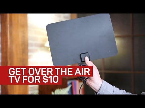 How to cut the cord for $10: installing an indoor antenna