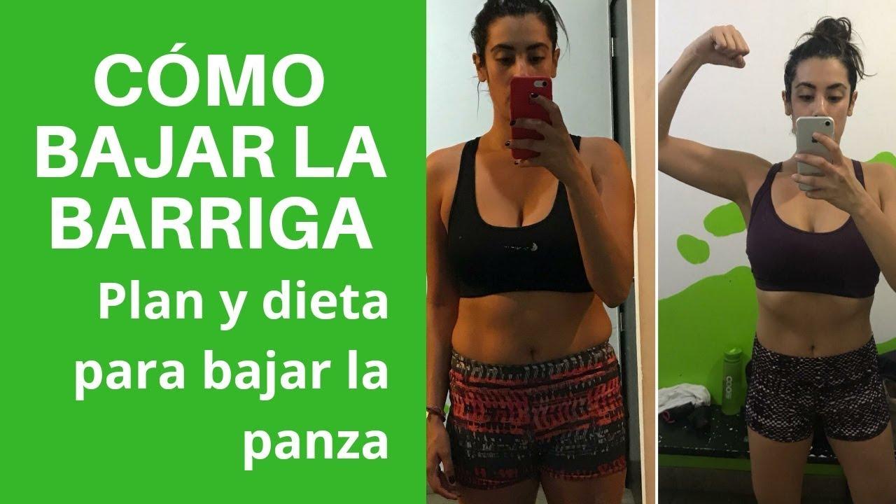 Dieta para rebajar abdomen