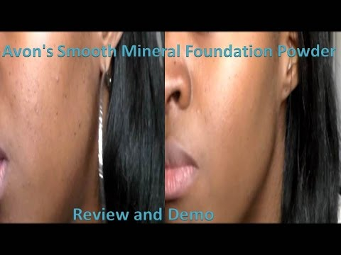 Avon's Smooth Mineral Powder Foundation Review + Demo
