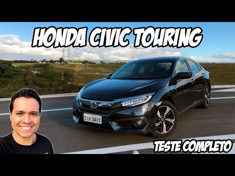 Honda Civic Touring: ele é melhor que o HR-V turbo e R$ 11 mil mais barato… por enquanto!!!