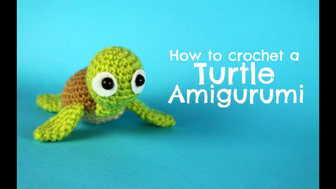 Amigurumi Turtle Pattern : How to crochet a turtle amigurumi world of amigurumi youtube