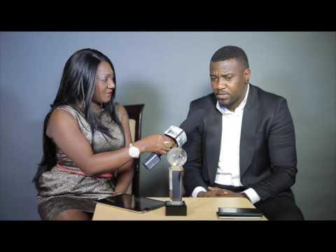 Queen Amina show with Nollywood Actor John Dumelo