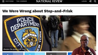 """""""Conservative"""" Website National Review Rails Against Stop and Frisk (REACTION)"""