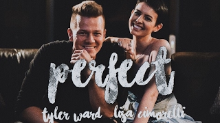 Perfect - Lisa Cimorelli ft. Tyler Ward (lyrics)