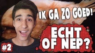 IK GA ZO GOED! - Echt of Nep? #2 (Photoshop Quiz)