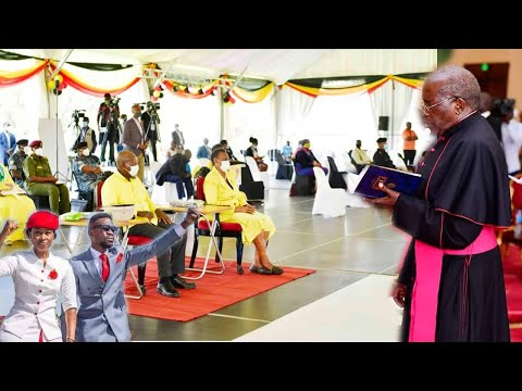 We shall Support Bobi Wine not you this Time not You – Bishop tells off Museveni in face
