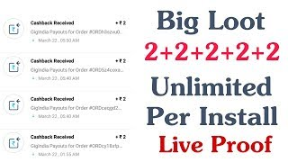 Big Loot Earn ₹2 Free Paytm Cash Per Install Directly In Paytm Wallet Live Proof (Working)