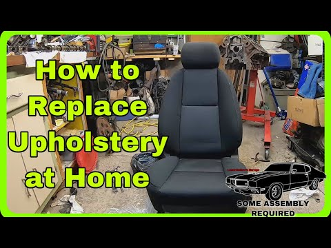 How to Replace Seat Covers in a Chevy or GMC Truck Easy Project
