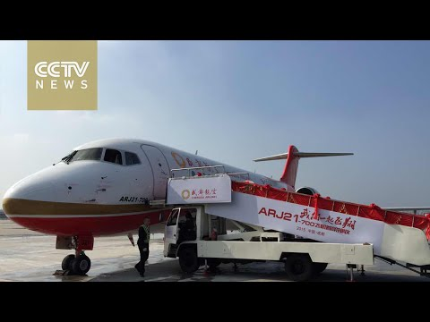 COMAC delivers first commercial jet to Chengdu Airlines