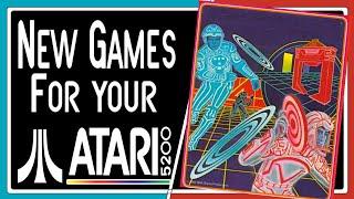 New Games for y๐ur Atari 5200 Part 6