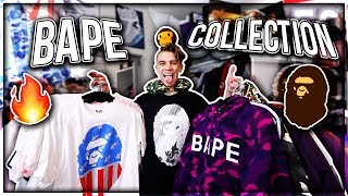 MY ENTIRE BAPE COLLECTION CLOTHESACCESSORIES