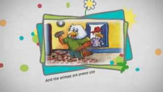 A Silly Rhyming Alphabet Book about Animals from A to Z- Book Trailer