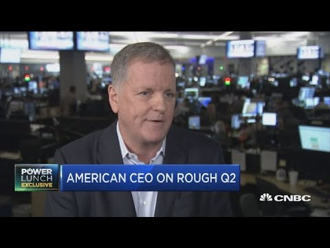 American Airlines CEO On Rough Quarterly Earnings
