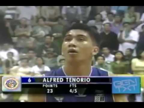 L.A.Tenorio Magical Moves In his Rookie Year in UAAP 64-2001