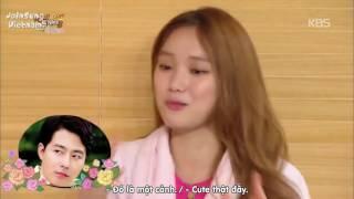 Khi Lee Kwang Soo diễn cảnh hôn || Happy Together