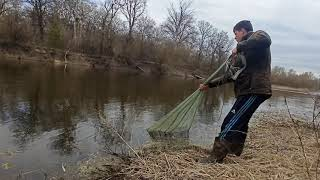 Рыбалка на Кастинговую сеть Реальный улов за 4 часа рыбалка на Северском донце