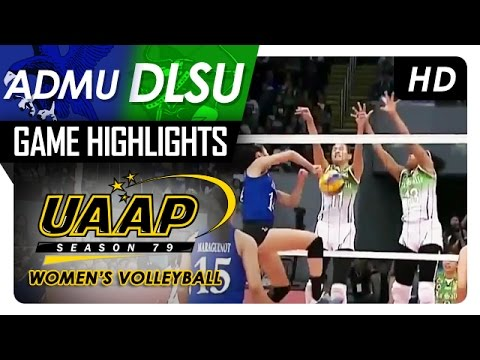 ADMU vs DLSU | Game Highlights | UAAP 79 WV | March 4, 2017