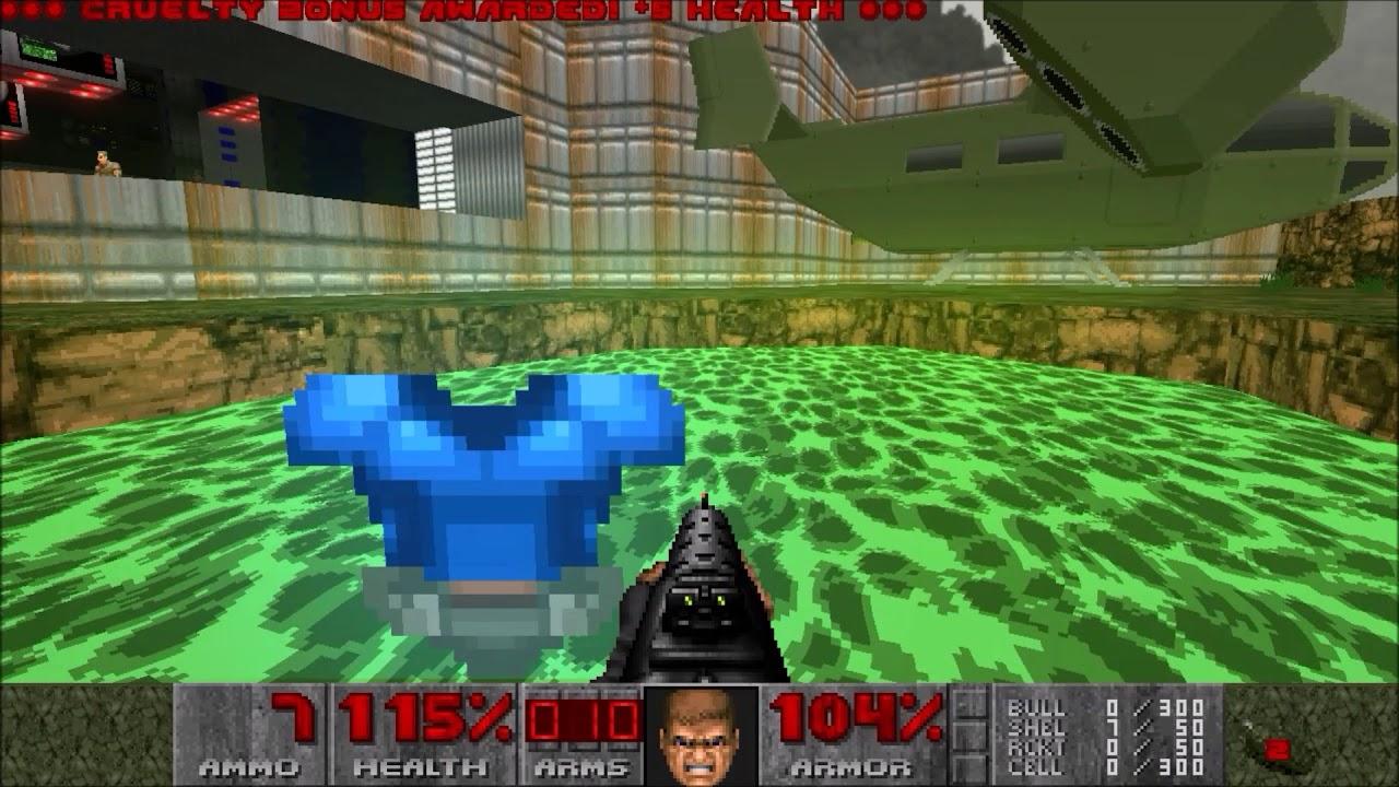 Brutal Doom v21b - Zandronum, Deathmatch ` Botmatch - MDM8