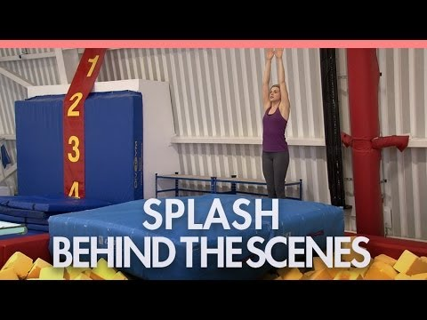 'Splash' behind the scenes with Anna Williamson and Keith Duffy