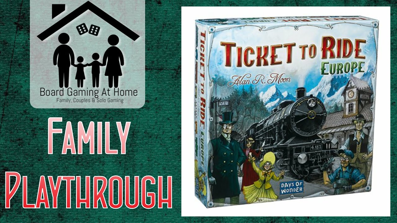 ticket to ride europe board game review