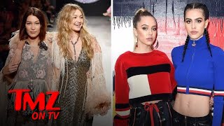 The Hamlin Sisters Vs. The Hadid Sisters | TMZ TV