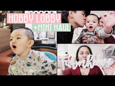 Vlog #179 | ETHAN NYANYI, NGINTIP ISI HOBBY LOBBY, MINI HAUL!