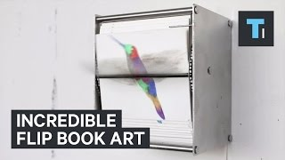 Mechanical Flip-Books Create Mesmerizing Works Of Art