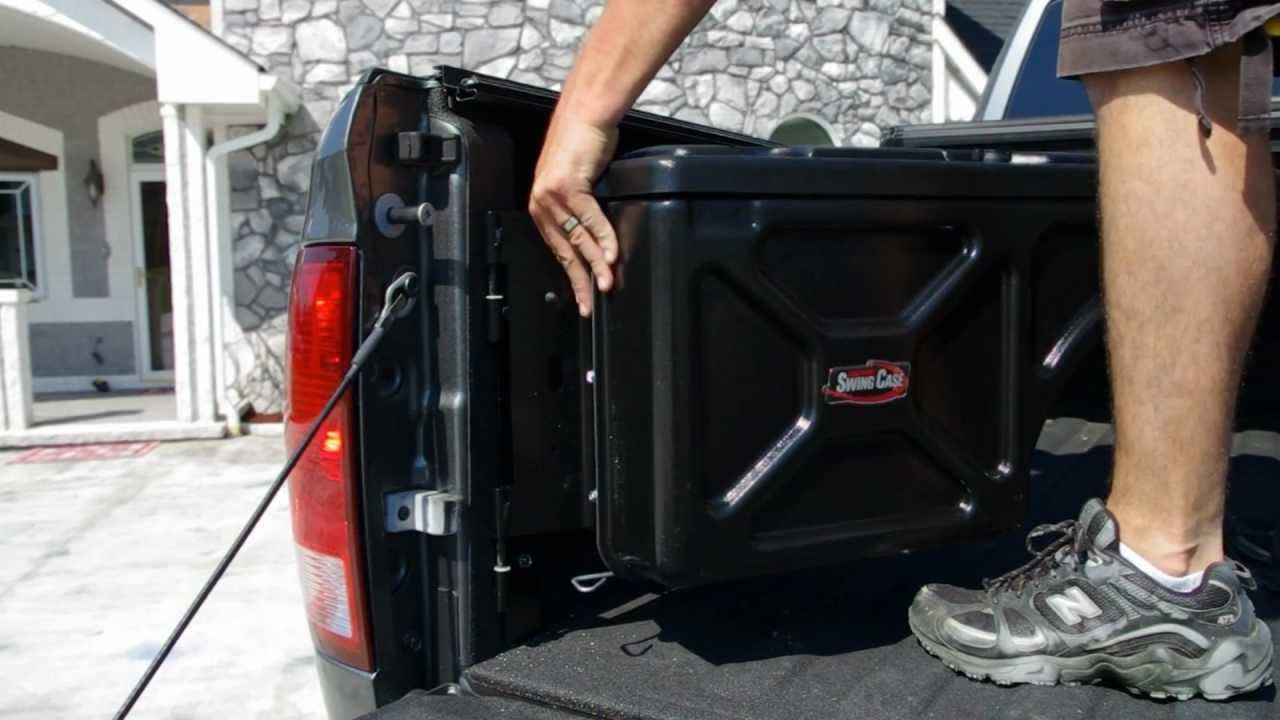 Undercover Swing Case Swingcase Toolbox Install On 2012