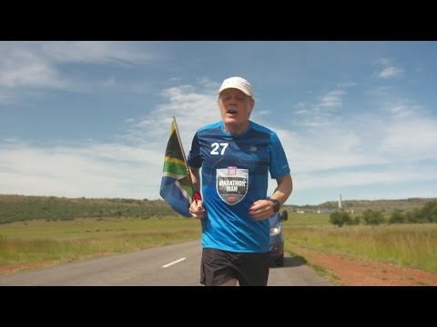 Last day; first marathon completed - Eddie Izzard: Marathon Man - BBC Three