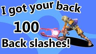 I got your back (A Shulk backslash montage) - SSB4 Wii U
