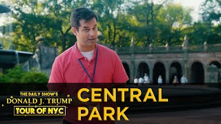 The Daily Show's Donald J. Trump Tour of NYC - Central Park