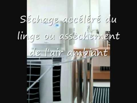deshumidification de l 39 air asecco12 alpatec youtube. Black Bedroom Furniture Sets. Home Design Ideas