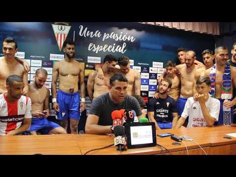 El Algeciras CF celebra su pase a la liguilla de ascenso