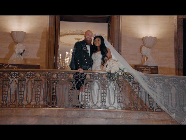 Pali and Jason | Hotel duPont Wedding